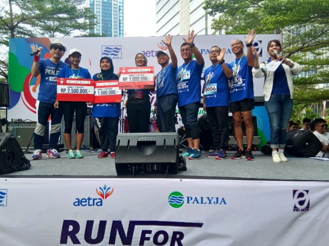 Pemenang Lomba Run For Water 2019
